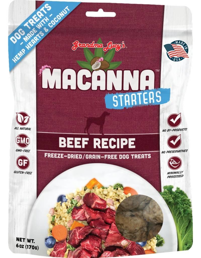 Grandma Lucy's Grandma Lucy's Starters 6 oz Macanna Beef