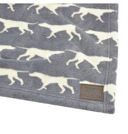 Tall Tails Tall Tails Fleece Blanket Charcoal 30 x 40