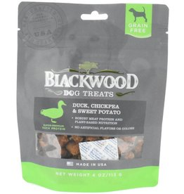 Blackwood GF Dog Treats Duck, Chickpea & Sweet Potato 4 oz