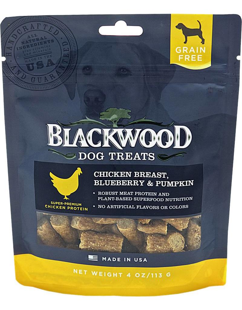 Blackwood GF Dog Treats Chicken, Blueberry & Pumpkin 4 oz