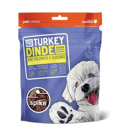 Petcurean Dog Jerky Treats Grain Free Turkey Spike Jerky 4 oz