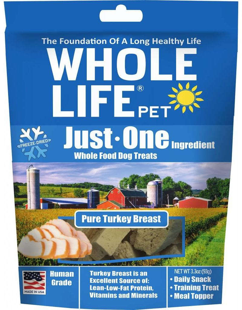 Whole Life Freeze Dried Cat Treats Turkey 1 oz