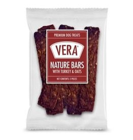 Vera Dog Treats Turkey & Oats Bar 5 pc 1.5 oz