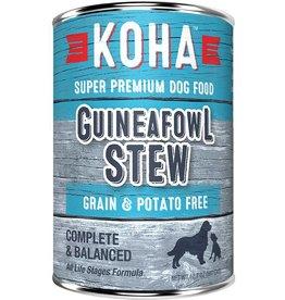 Koha Koha Canned Dog Food Guineafowl Stew 12.7 oz single