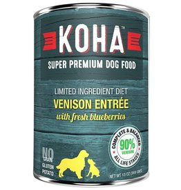 Koha Koha Canned Dog Food Venison Entree 12.7 oz single