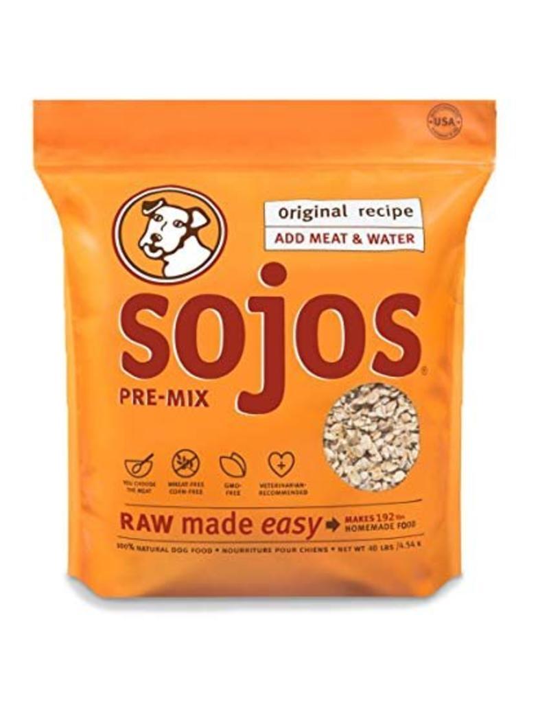 Sojo's Sojo's Pre Mix Dog Food  Original 40 lb