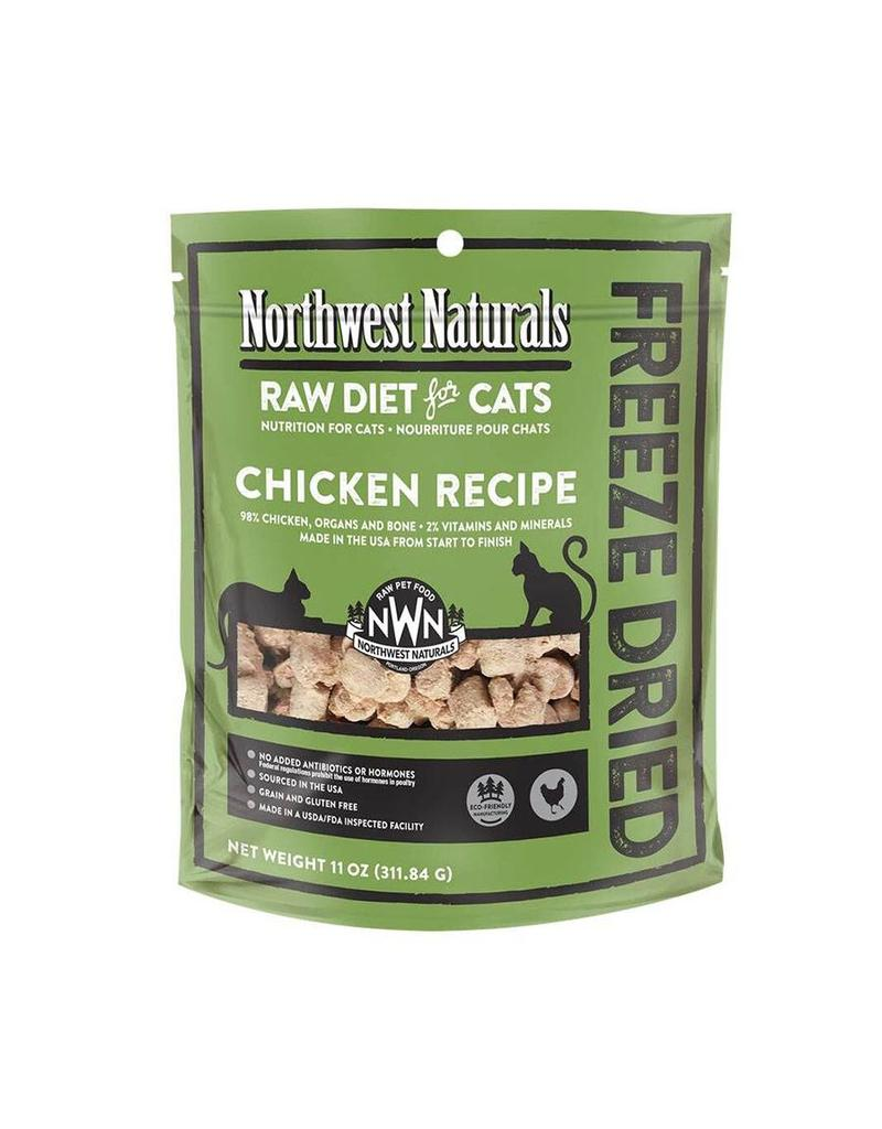 Northwest Naturals Northwest Naturals Freeze Dried Cat Food Chicken 11 oz