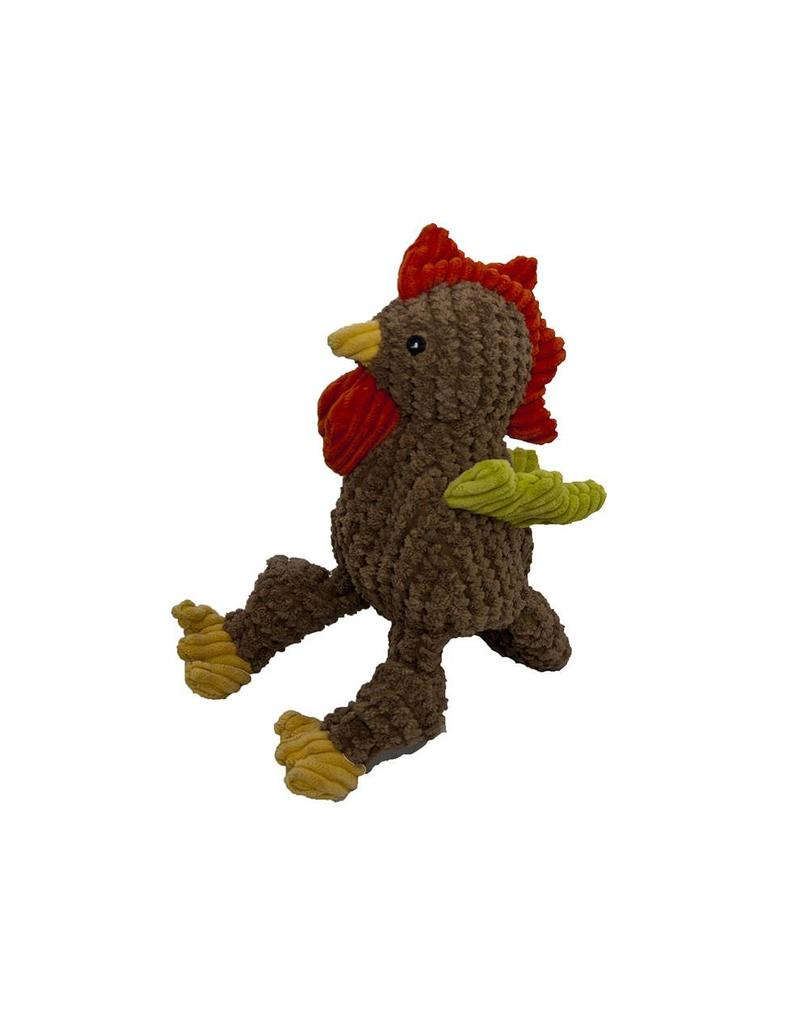 HuggleHounds Huggle Hounds Toys Corduroy Rooster Knottie Small