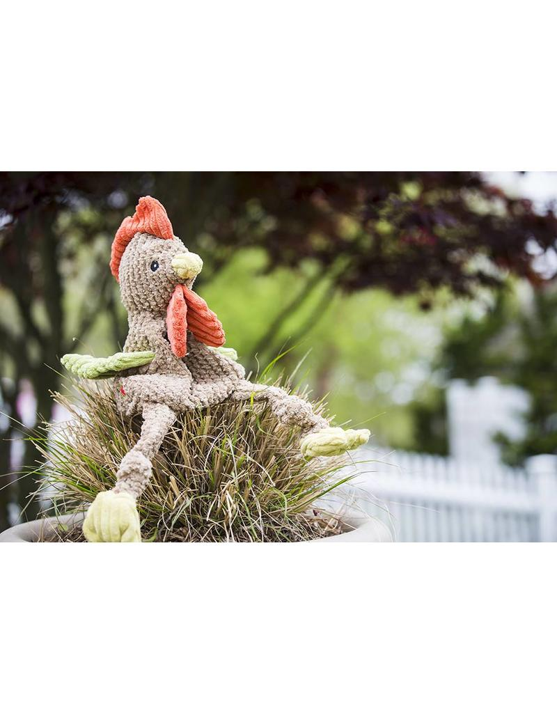 HuggleHounds HuggleHounds Toys Corduroy Rooster Knottie Small