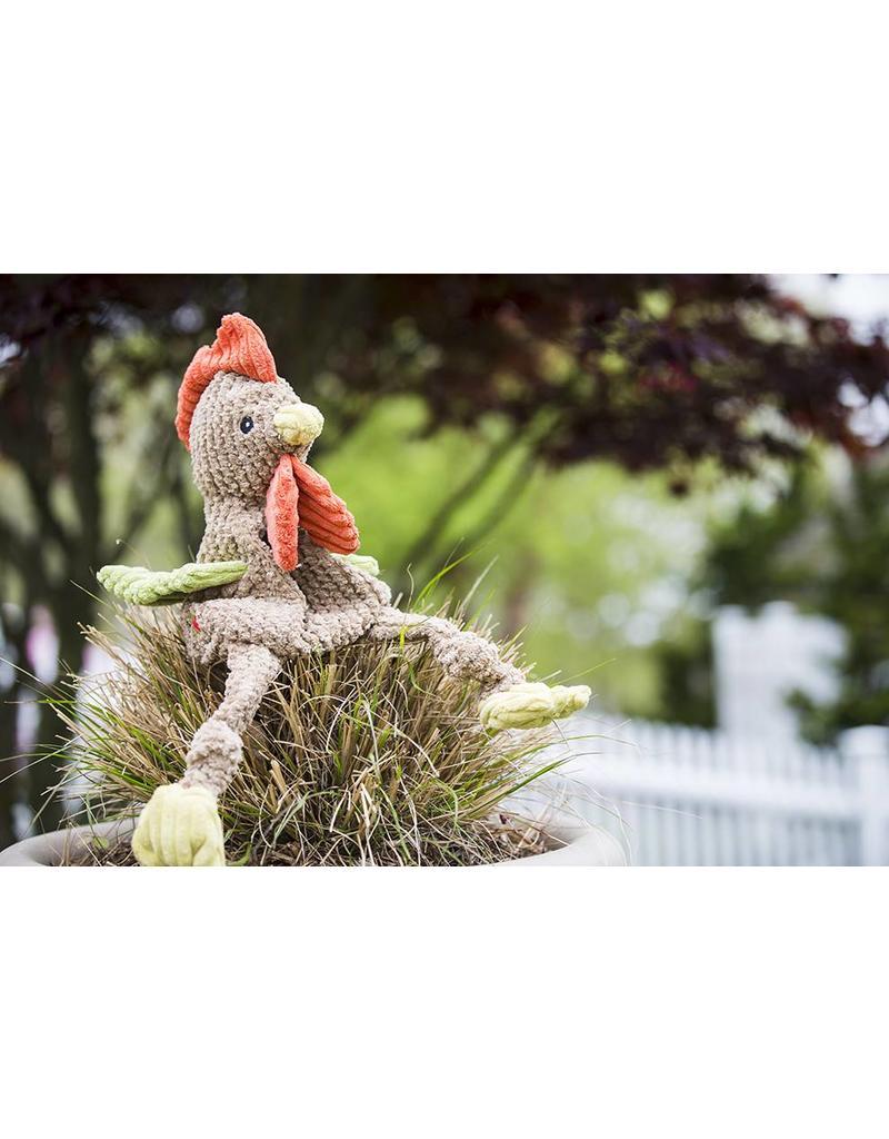 HuggleHounds Huggle Hounds Toys Corduroy Rooster Knottie Large