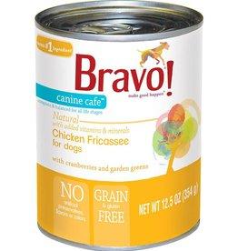 Bravo Bravo Dog Cans Chicken Fricassee 12.5 oz single
