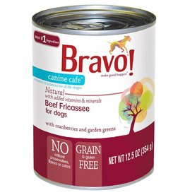 Bravo Bravo Dog Cans Beef Fricassee 12.5 oz single