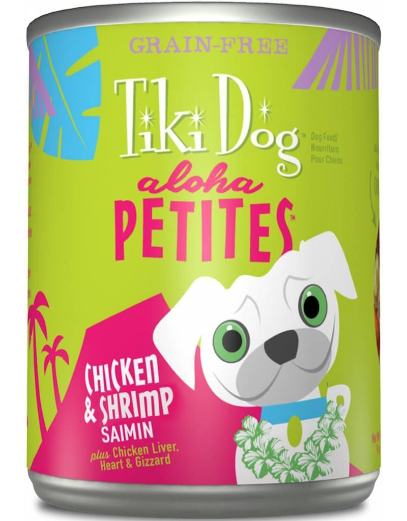 Tiki Dog Aloha Petites Canned Dog Food Saimin 9 oz single