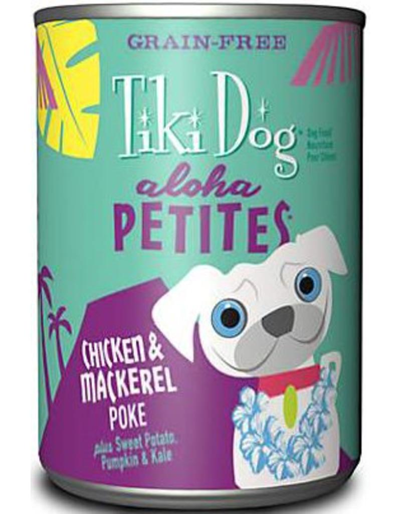Tiki Dog Aloha Petites Canned Dog Food Poke 9 oz single