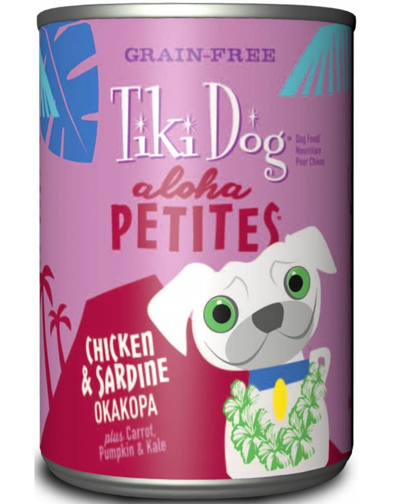 Tiki Dog Aloha Petites Canned Dog Food Okakopa 9 oz single