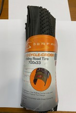 Serfas SERFAS CYCLOCROSS TIRE - 700X33 FOLDING