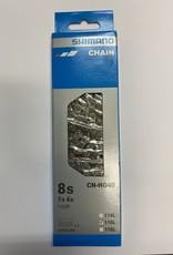 Shimano Shimano Tourney CN-HG40 Chain - 6,7,8-Speed, 116 Links, Gray