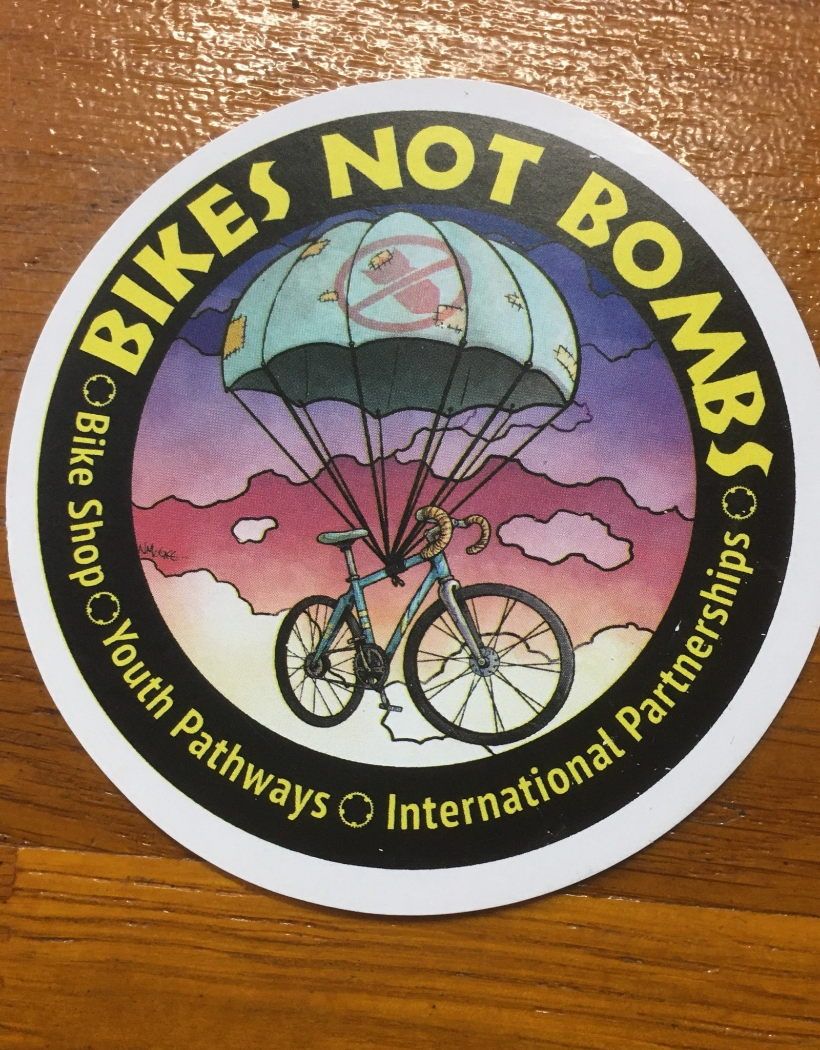 BNB Round Sticker
