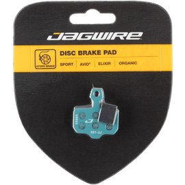 Jagwire Sport Organic Disc Brake Pads for SRAM Level TL, T, DB5, DB3, DB1, Avid, Elixir R, CR, CR Mag, 1, 3, 5, 7, 9, X0, XX, World Cup