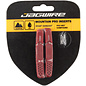 Jagwire  Mountain Pro Brake Pad Replacement Insert for Wet Conditions, Red
