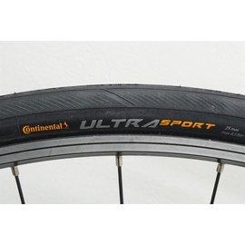 Continental Ultra Sport III Tire - 700 x 25, Clincher, Wire, Black
