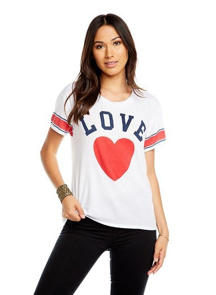 Chaser Boxy Team Love Tee