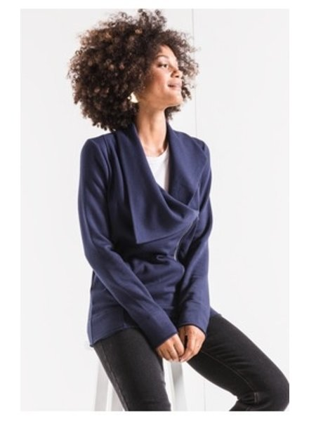 Z Supply Feathered Fleece Jacket