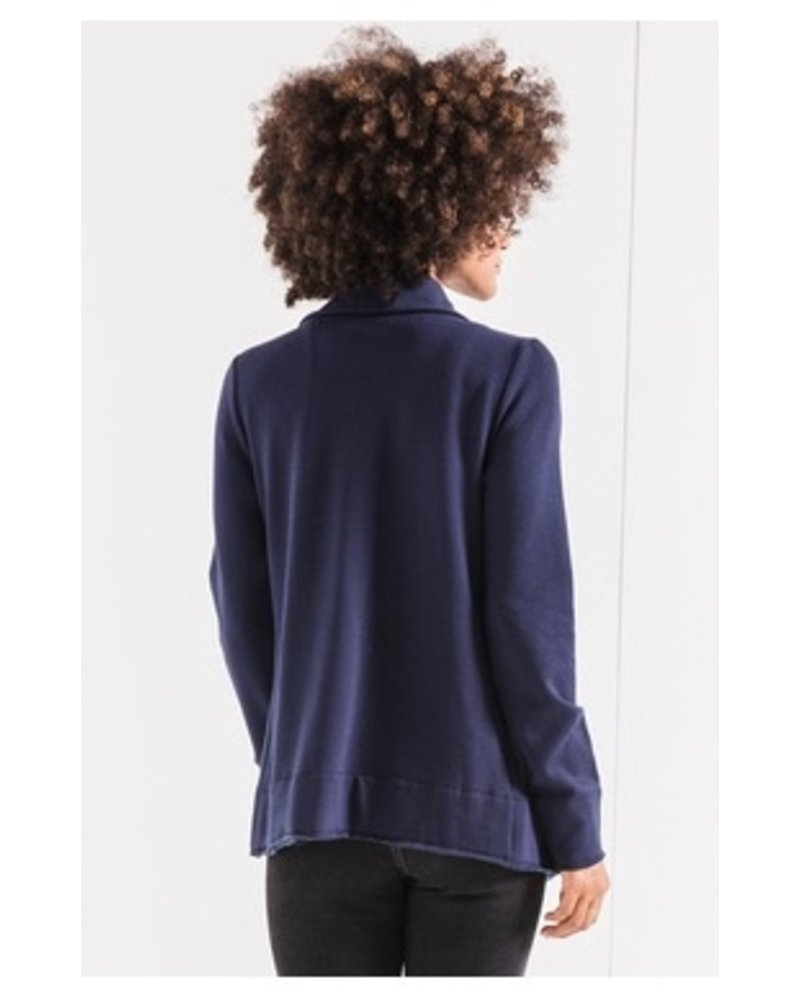 Z Supply Feathered Fleece Jacket