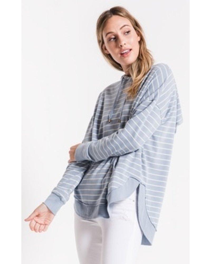 Z Supply Striped Dakota Pullover