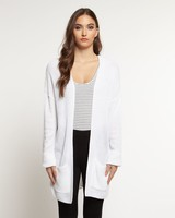 Dex Long Sleeve Open Cardigan