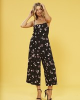Mink Pink Night Garden Jumpsuit