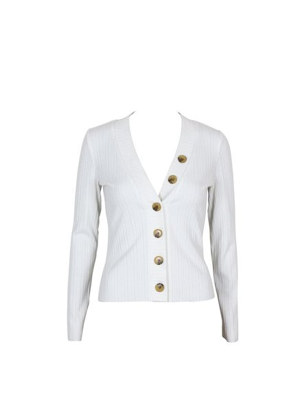 Mink Pink Button Front Top