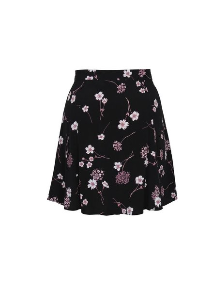 Mink Pink Night Garden Mini Skirt