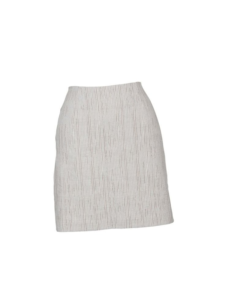 Mink Pink Textrured Mini Skirt