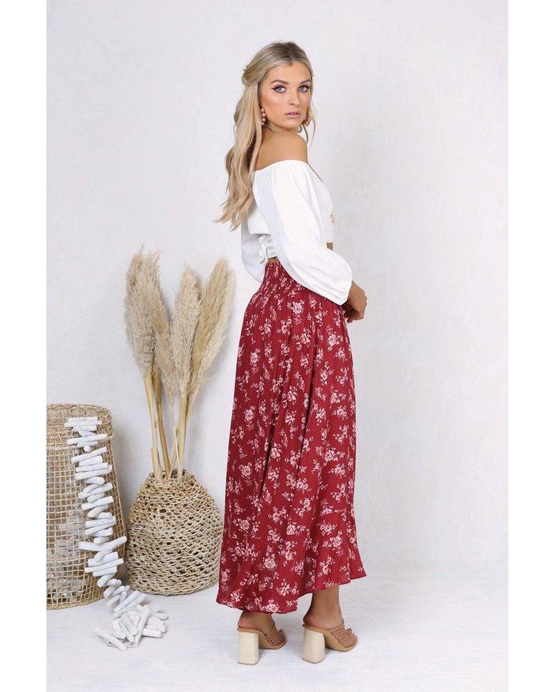 Lost in Lunar Tamara Maxi Skirt