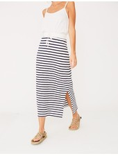 Yerse Long Jersey Skirt