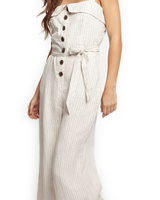Dex Button Front Jumpsuit
