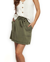 Dex Paperbag Tie Up Skirt