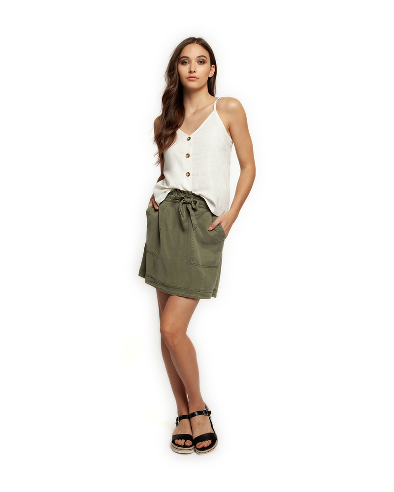 Dex Paperbag Tie Up Skirt