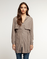 Dex Hooded Trench Coat