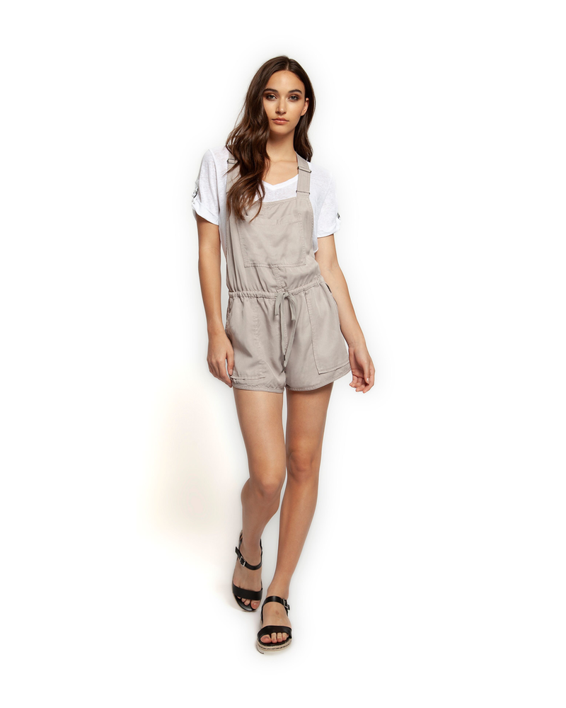 Dex Shorts Overalls with Drawcord Waist