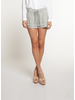 Dex Pull On Shorts with Raw Hemline