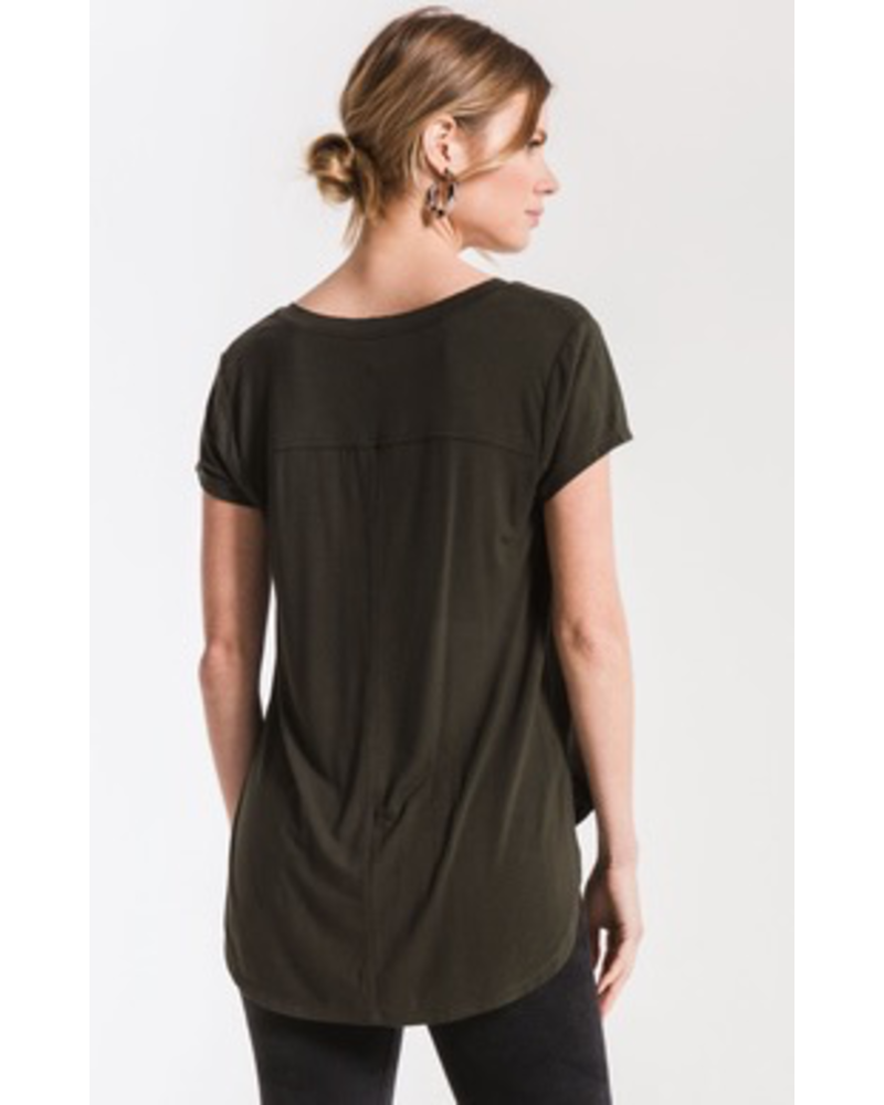 Z Supply The Mya V-Neck Tee