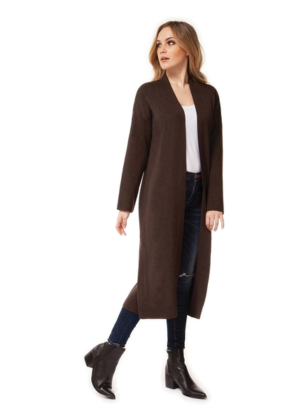 Dex Long Slv Open Cardigan