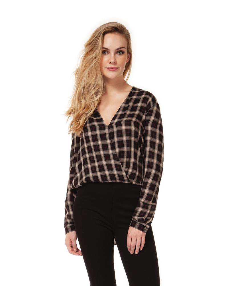 Dex Crossover Blouse