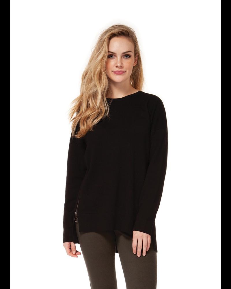 Dex Side Zip Detail Sweater