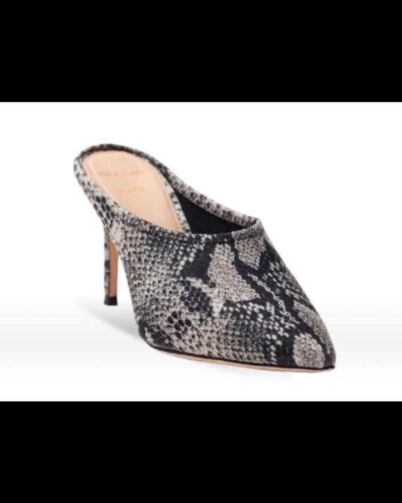 Black Suede Studio BSS Iona Mule Shoe