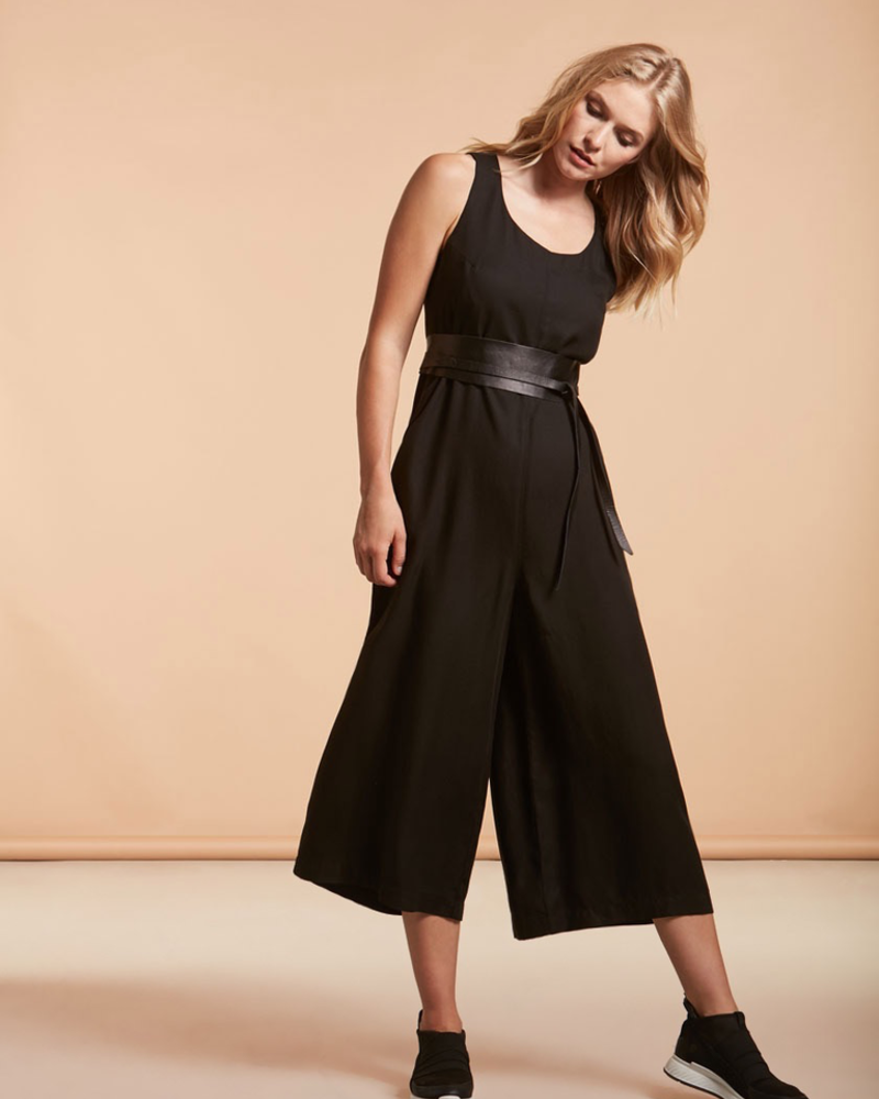 Nile Overall Ankle Jumpsuit