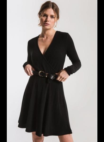 Z Supply The Soft Spun Surplice Dress