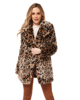 Dex Faux Fur Coat